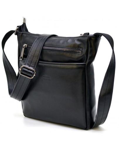 Фотография Кожаная сумка через плечо без клапана Tarwa GA-1300-3md
