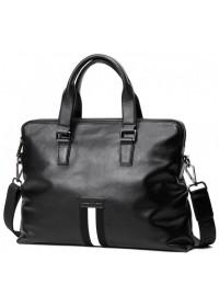 Кожаная мужская сумка для небольшого ноутбука A25F-66001A
