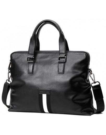 Фотография Кожаная мужская сумка для небольшого ноутбука A25F-66001A