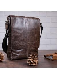 Мужская вместительная сумка на плечо SHVIGEL 00796