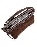 Фотография Коричневая горизонтальная сумка на плечо SHVIGEL 00798