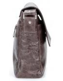 Фотография Коричневая мужская горизонтальная сумка SHVIGEL 00799