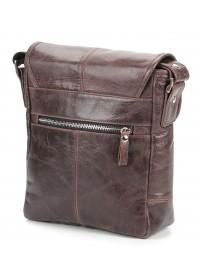 Коричневая сумка мужская на плечо SHVIGEL 00855