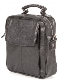 Мужская сумка барсетка из натуральной кожи SHVIGEL 00875