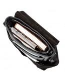 Фотография Мужская черная сумка через плечо SHVIGEL 00878