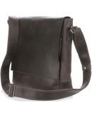 Фотография Коричневая сумка на плечо винтажная SHVIGEL 00886