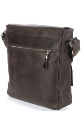Коричневая сумка на плечо винтажная SHVIGEL 00886