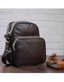 Фотография Мужской коричневый мессенджер - сумка на плечо SHVIGEL 00899