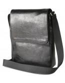 Фотография Черная мужская сумка на плечо формата А4 SHVIGEL 00927
