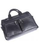 Фотография Синня мужская кожаная сумка для документов SHVIGEL 00976