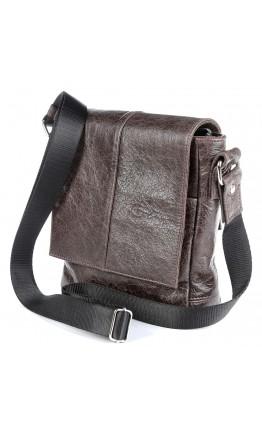 Маленькая коричневая сумка на плечо SHVIGEL 00979
