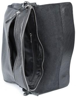 Сумка черная на плечо формата А4 SHVIGEL 00997