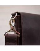 Фотография Винтажная мужская коричневая сумка на плечо SHVIGEL 00999