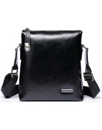 Фотография Мужская сумка на плечо из натуральной кожи Calvin Klein 7022