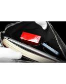 Фотография Стильная и модная мужская сумка Calvin Klein из кожи 7027k