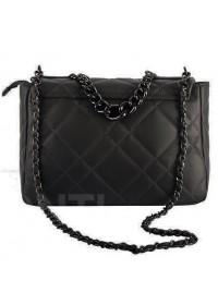 Черная кожаная женская сумка VIRGINIA CONTI 03225BLACK