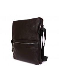 Удобная стильная мужская сумка из кожи на каждый день 7099k
