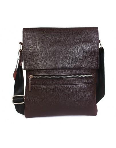 Фотография Удобная стильная мужская сумка из кожи на каждый день 7099k