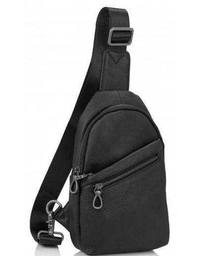 Фотография Мужской слинг из натуральной кожи Tiding Bag 10031A