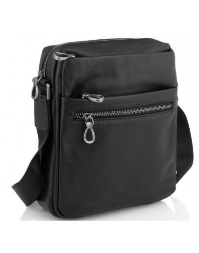 Фотография Черная мужская сумка на плечо Tiding Bag 1007A