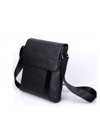 Модная мужская черная сумка на плечо 71032