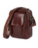 Фотография Удобная кожаная мужская повседневная сумка 71032b