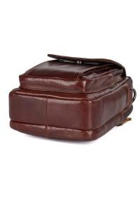 Удобная кожаная мужская повседневная сумка 71032b
