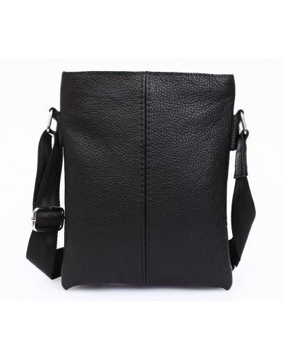 Фотография Классическая черная повседневная сумка на плечо 7104