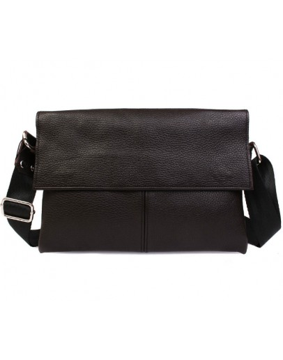 Фотография Вместительная и практичная кожаная сумка на плечо 7105k