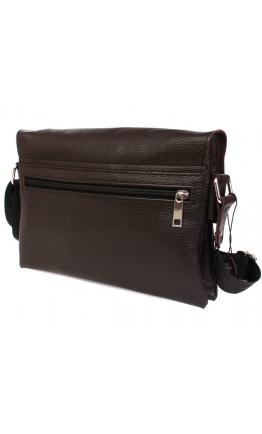 Вместительная и практичная кожаная сумка на плечо 7105k