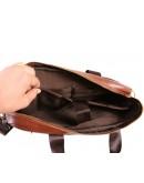 Фотография Практичный и вместительный кожаный портфель 7107