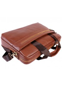 Практичный и вместительный кожаный портфель 7107