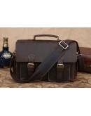 Фотография Компактный кожаный портфель идеального качества 71088