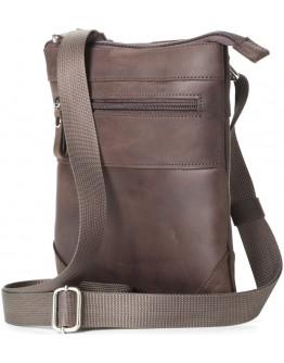 Коричневая небольшая сумка на плечо SHVIGEL 11018