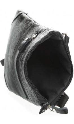 Мужская небольшая кожаная сумка на плечо SHVIGEL 11025