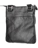 Фотография Мужская небольшая кожаная сумка на плечо SHVIGEL 11025