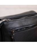 Фотография Черный мужской клатч и сумка на плечо SHVIGEL 11038