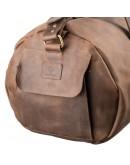 Фотография Дорожная коричневая винтажная сумка Grande Pelle 11045