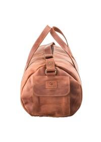 Дорожная коричневая винтажная сумка Grande Pelle 11047