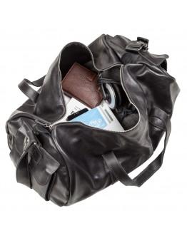 Кожаная мужская дорожная сумка из гладкой кожи Grande Pelle 11048