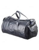 Фотография Синяя мужская кожаная сумка для командировок Grande Pelle 11049