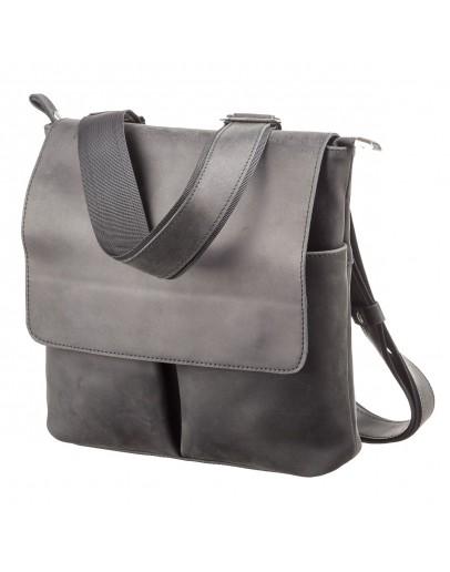 Фотография Винтажная мужская сумка на плечо SHVIGEL 11078