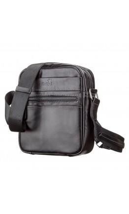 Черная небольшая мужская сумка барсетка SHVIGEL 11088