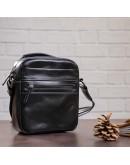 Фотография Черная небольшая мужская сумка барсетка SHVIGEL 11088