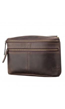 Коричневая мужская сумка на плечо SHVIGEL 11094