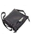Фотография Мужская кожаная сумка черная SHVIGEL 11096