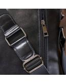 Фотография Черный кожаный мужской мессенджер SHVIGEL 11101