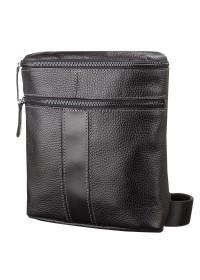 Черная сумка на плечо мужская SHVIGEL 11102