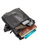 Фотография Черная сумка на плечо мужская SHVIGEL 11102