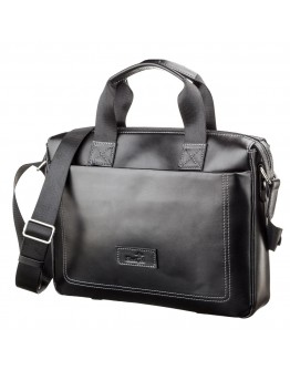Кожаная сумка мужская для документов SHVIGEL 11107